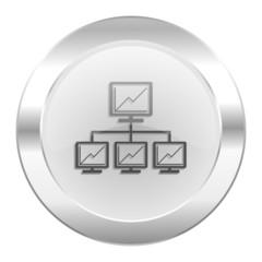 network chrome web icon isolated