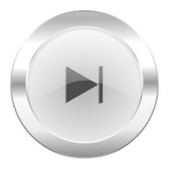 next chrome web icon isolated