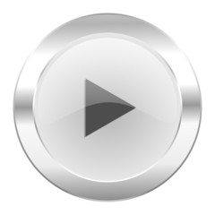 play chrome web icon isolated