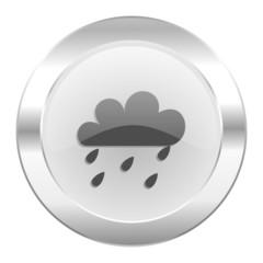rain chrome web icon isolated