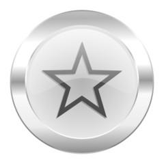 star chrome web icon isolated