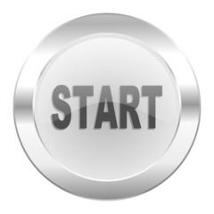 start chrome web icon isolated