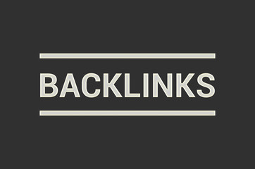 Backlinks Seo Concept