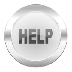 help chrome web icon isolated