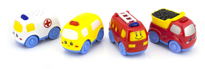 plastic car toy career set