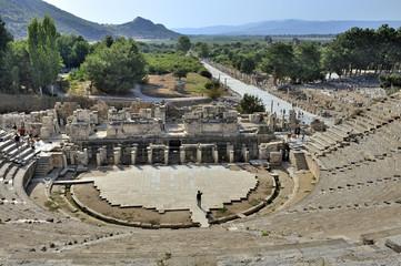 Efeso Turchia antico teatro anfiteatro greco romano