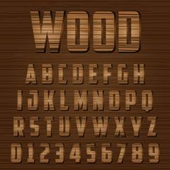 Woody Alphabet