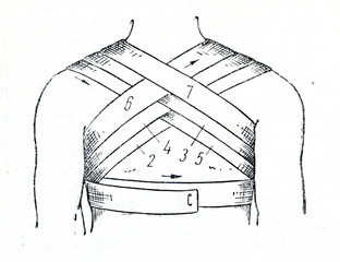 Bandaging the chest