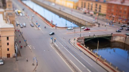 Obvodny Canal Saint Petersburg Tilt-Shift Time Lapse