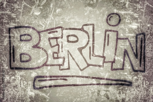 canvas print picture Berlin...