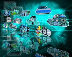Internet clouds