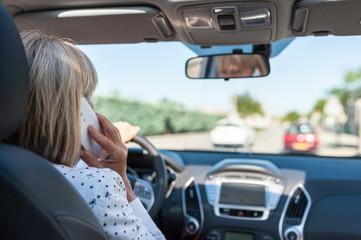 Téléphoner  volant danger