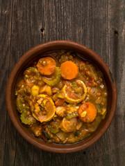 rustic vegetarian casserole