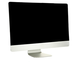 New modern computer, isolated on white