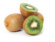 Kiwi fruit isolated on white background,
