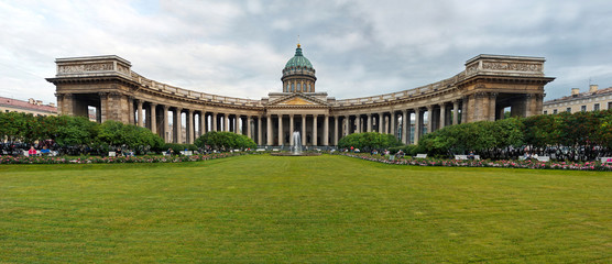 Panorama of the Kazan cathedral 1159.
