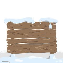 vector wooden board
