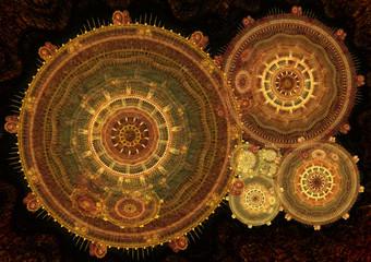 Fantasy steampunk design