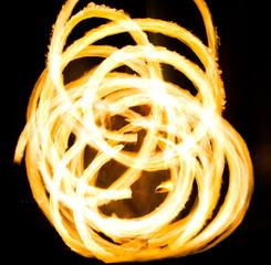 Night Performance Gasoline Dance