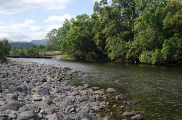 ウールーヌーラン国立公園の川