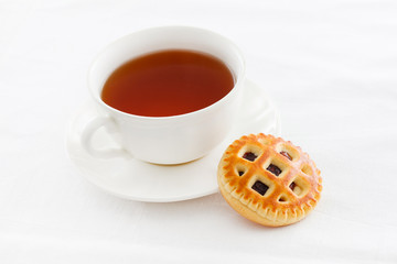 tea with cookie
