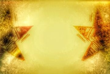 goldene Sterne - Hintegrund...