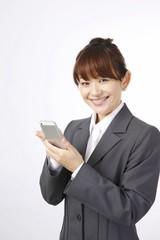 スマートフォン 女性