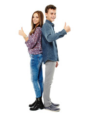 Couple of teens