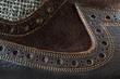 canvas print picture - Male tango shoe