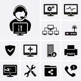 Computer technician icons. - 71768500