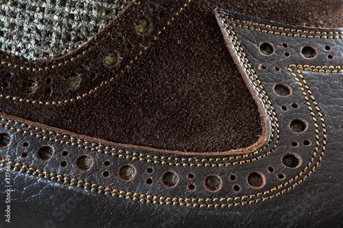 canvas print picture Male tango shoe
