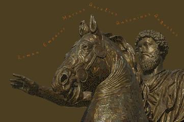 Roman emperor Marcus Aurelius