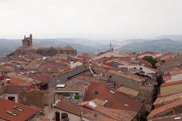 Laguardia Rooftops, Rioja Region, Spain