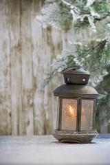 Christmas lantern.