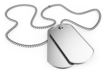 3D Dog tags