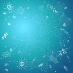 クリスマス 雪の結晶