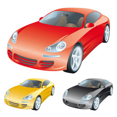 The set of sport cars