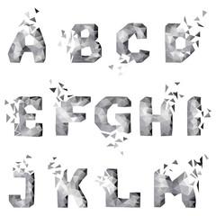 dynamic crumble font