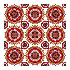 Arabesque, ottoman seamless pattern