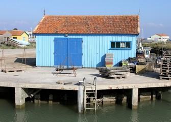 port ostréicole,le chateau d'oléron,île doléron
