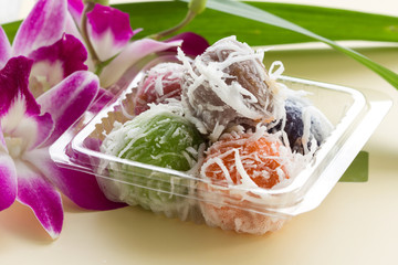 Dessert , the food of a Thai