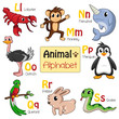 Alphabet animals from L to S