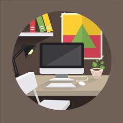 table_office_vector