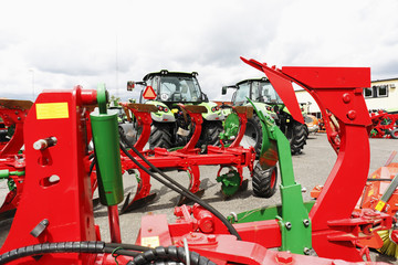 farming plows and tractors, latest models