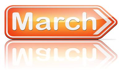 next march