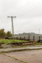 altes areal einer NVA-Kaserne am DDR-Grenzverlauf