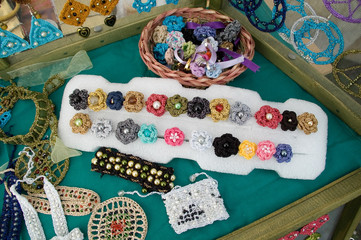 Brooches and Jewellery