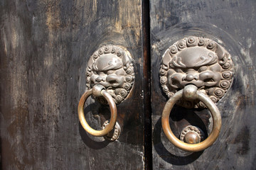 chinese door knockers