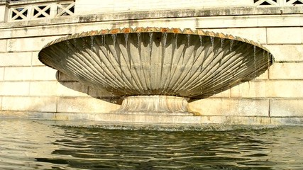 Conchiglia della Fontana della Dea di Roma