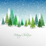 Fototapety Christmas Winter Landscape